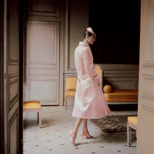 1955 Dior pink coat large 「粉紅」,才是最時尚的LOOK