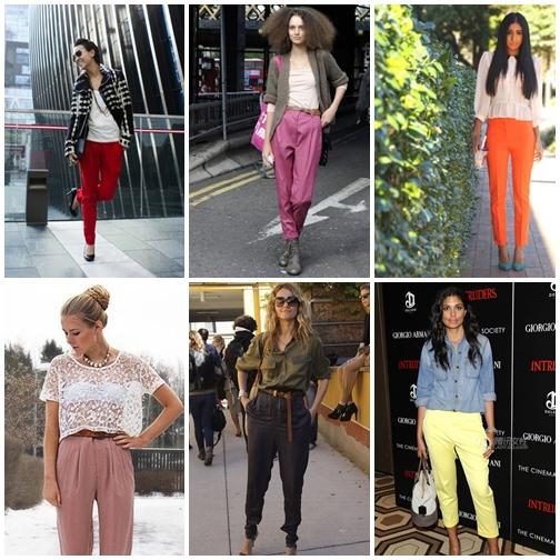 哈倫褲 2012 最適合妳的褲款是什麼?