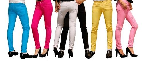 色褲1 2012 最適合妳的褲款是什麼?