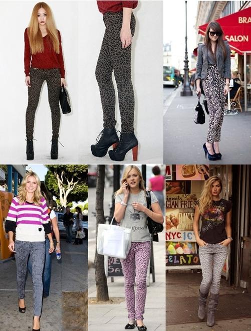 豹紋褲 2012 最適合妳的褲款是什麼?