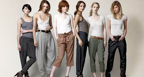 2012褲款 2012 最適合妳的褲款是什麼?