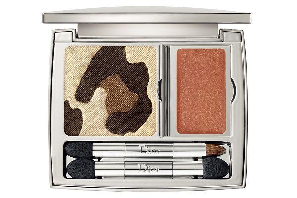 迪奧豹紋眼彩盤限量 Dior金色優雅x豹紋野性的叢林系彩妝
