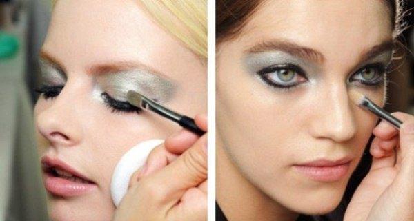 img 02 Chanel Beauty Makeup Paris Fashion Week Spring 2013 複製 誰能抵擋你的美麗:點亮眼睛的金屬魔法