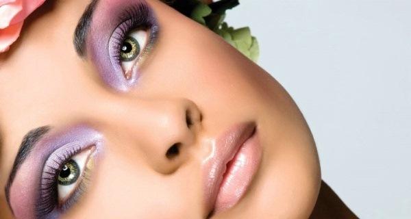 intese purple eyeshadow look 複製 今天化身小女人:粉嫩的眼神會說話